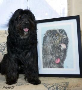 Tobías y su retrato